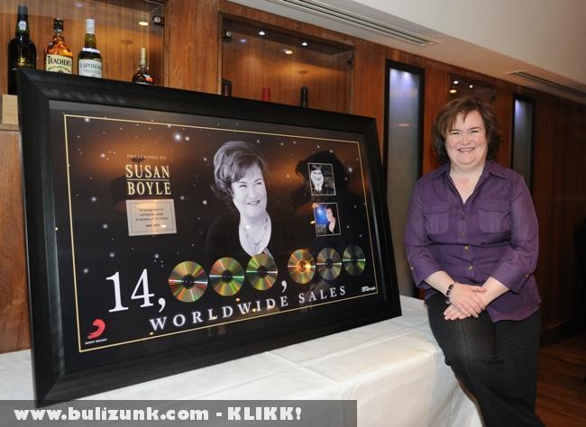 Susan Boyle: 14 millió eladott album 14 hónap alatt!
