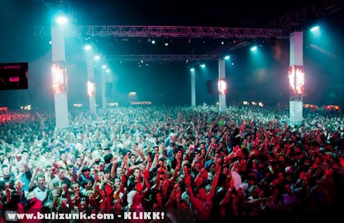 Balaton Sound 2011 - koncert tömeg