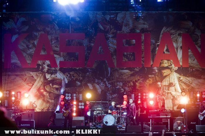 Kasabian a Szigeten 2011-ben