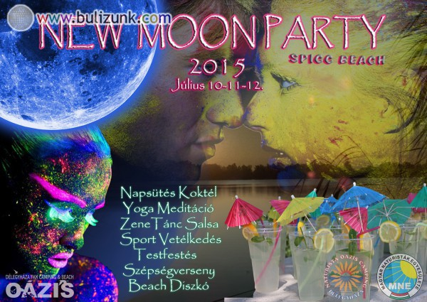 NEW MOON PARTY 2015