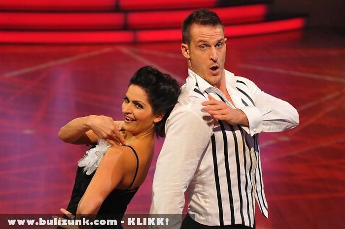 A Szombat esti láz 2. helyezettje: Varga Iza és Cseh-Szakál Tibor
