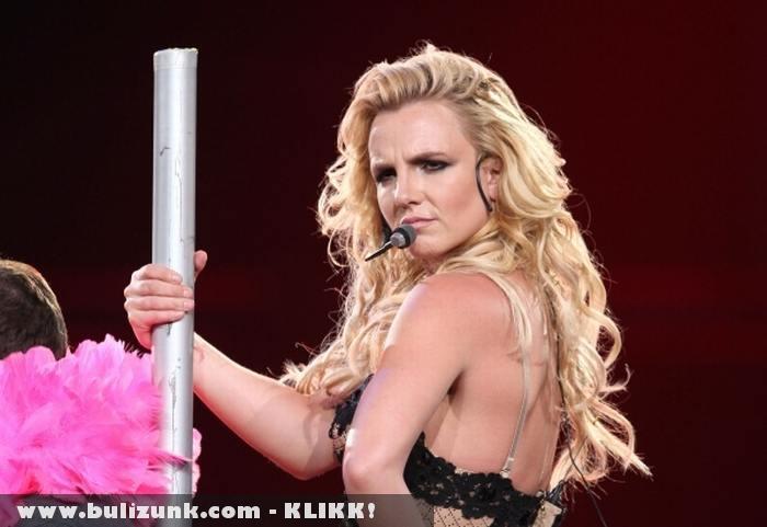 Britney Spears koncert közben