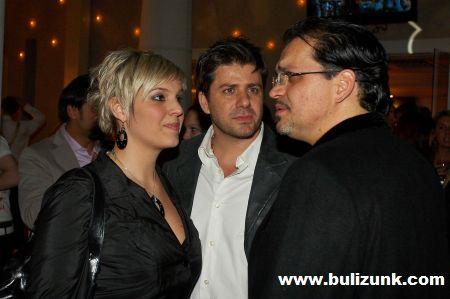 Betty, Varga Feri és Szolnoki Péter a Danubius szülinapi buliján