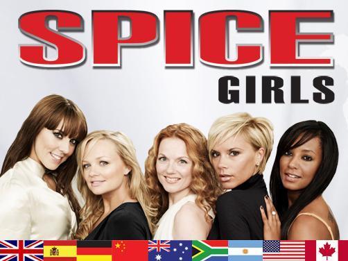 Spice Girls - Az utolsó turné plakátja
