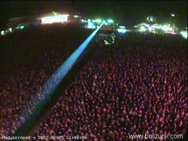 Sziget 2002 nagykoncert (a felhõkbe kapaszkodom!)