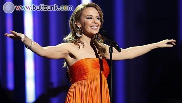 Kylie Minogue koncert közben