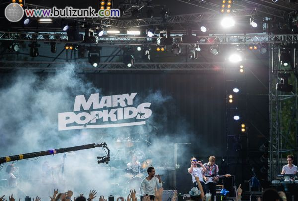 Mary Popkids koncert a STRAND Fesztiválon 2014-ben