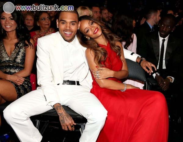 Rihanna és Chris Brown a Grammyn