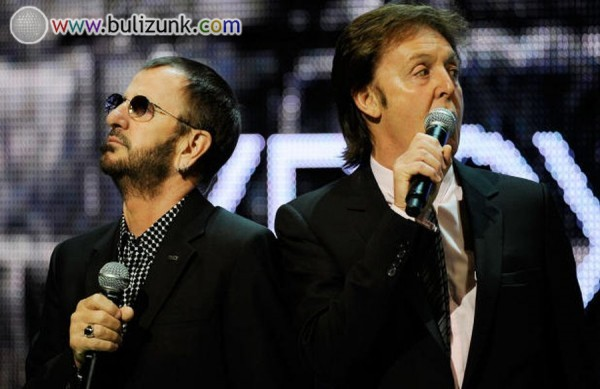 Ringo Starr és Paul Mccartney