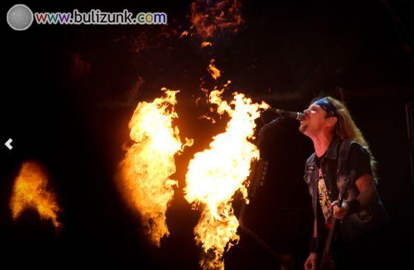 Tűzshow a Sziget 2014-en