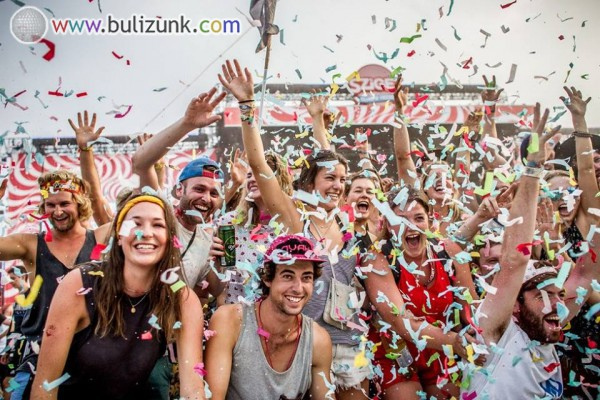 Konfetti Party, Sziget 2016