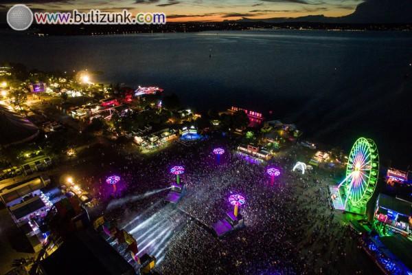 Balaton Sound f2017 légifelvétel
