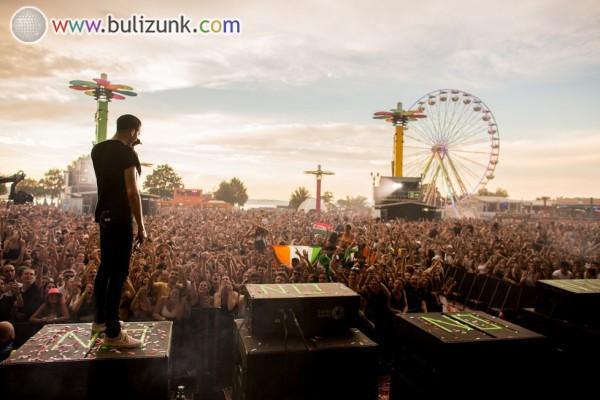 Koncert a Balaton Sound 2017 Fesztiválon