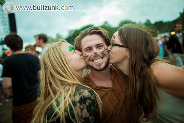 Sziget 2014 kiss