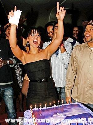 Alicia Keys szülinapi buliján