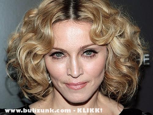 Madonna uj frizurája