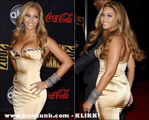 Beyonce estélyiben
