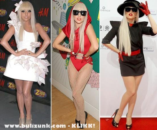 Lady Gaga 3 stílusban