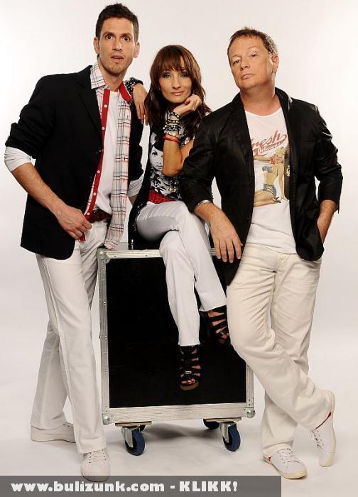 X-Factor hazai zsüri (még 1 tag hiányzik)