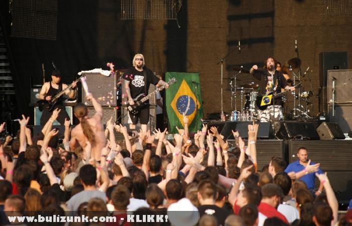 Soulfly a 2010-es Volt fesztiválon