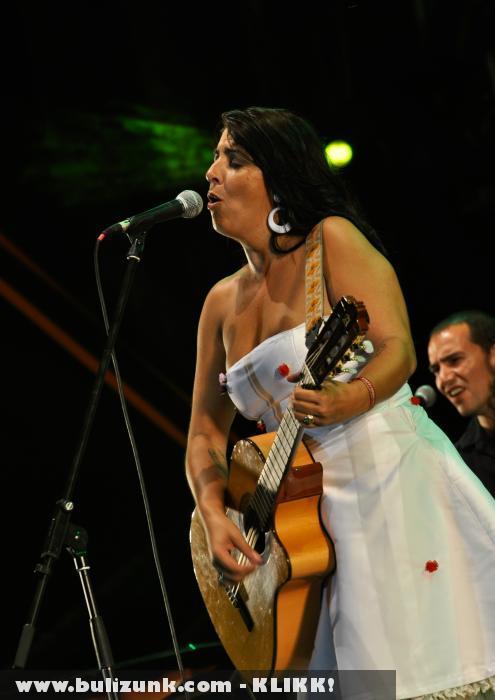 Amparo Sanchez a 2010-es SZIGET-en