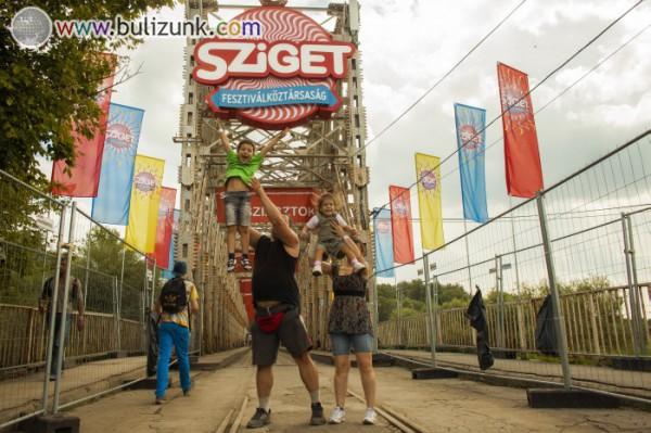 Családdal a Sziget Fesztivál 2014-en