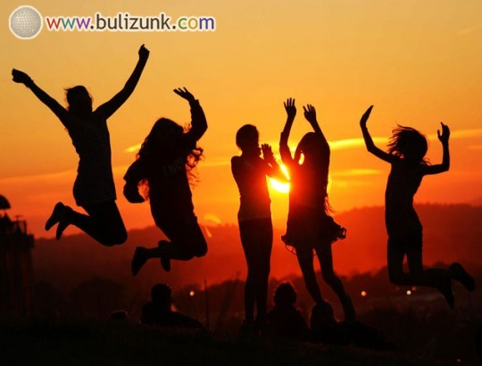 Glastonbury 2013 - csodálatos naplemente!