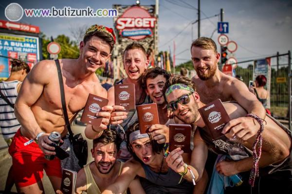 Sziget Festival PASSPORT