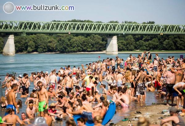 Sziget 2015, beach
