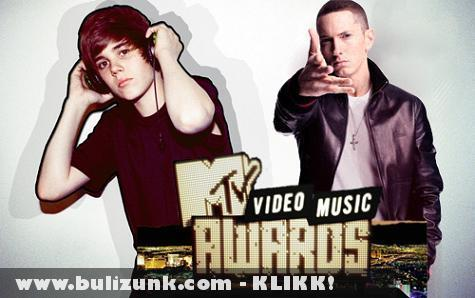 MTV Music Awards: Justin Bieber és Eminem