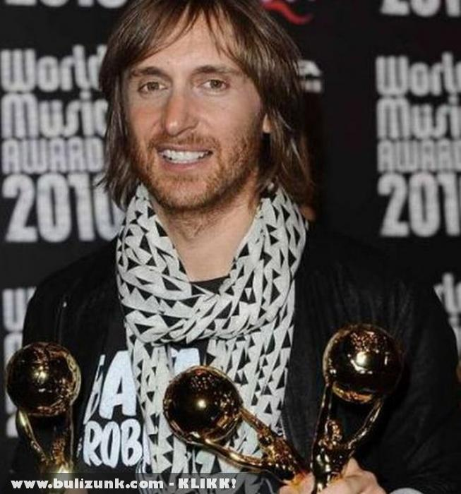 David Guetta a 2010-es World Music Awards-on