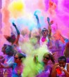 Color Party a Szigeten