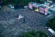 Sziget 2014 - légi felvétel a nagyszínpadról